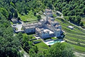 Veduta aerea Borgo San Pietro
