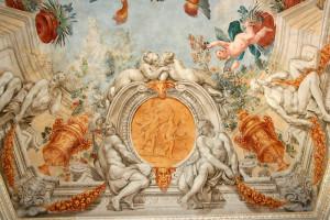 PALAZZO ORSINI-BARBERINI MONTEROTONDOGalleria-Barberini-particolare