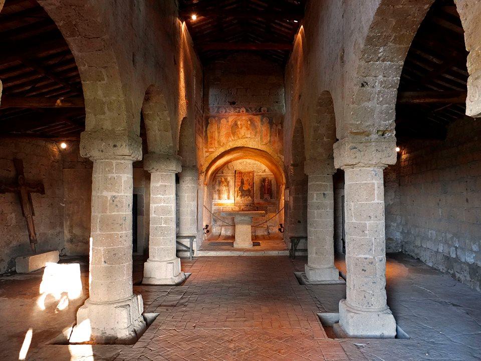 Domenica 1/3/20-I luoghi della Via Francigena:Il complesso di Sant'Eusebio, gioiello paleocristiano e medievale (Vt) apertura speciale