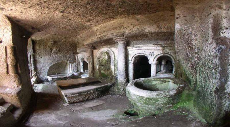 Dom. mattina 15/3/20: Orte sotterranea: apertura speciale del Ninfeo rinascimentale (VT)