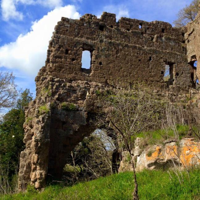 Domenica 15/11 – Escursione- UN CASTELLO PERDUTO DELLA TUSCIA: CASTEL D'ISCHIA (VT)